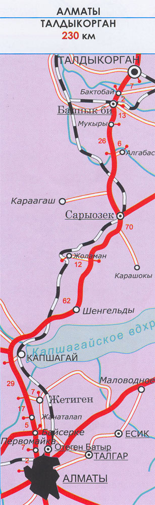 Алматы / Карты Алматы и области — RealKZ.com: http://realkz.com/page.php?page_id=484