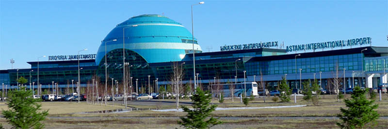 How to get to Astana Airport